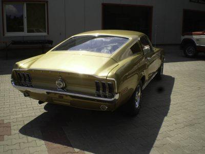 Mustang Fastback Restoration