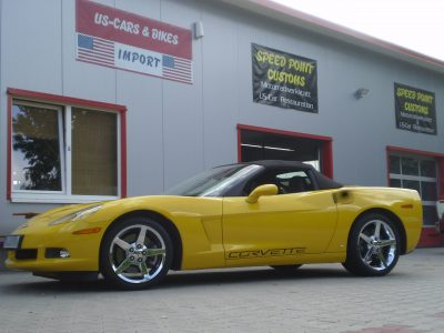 Chevrolet Corvette convertible
