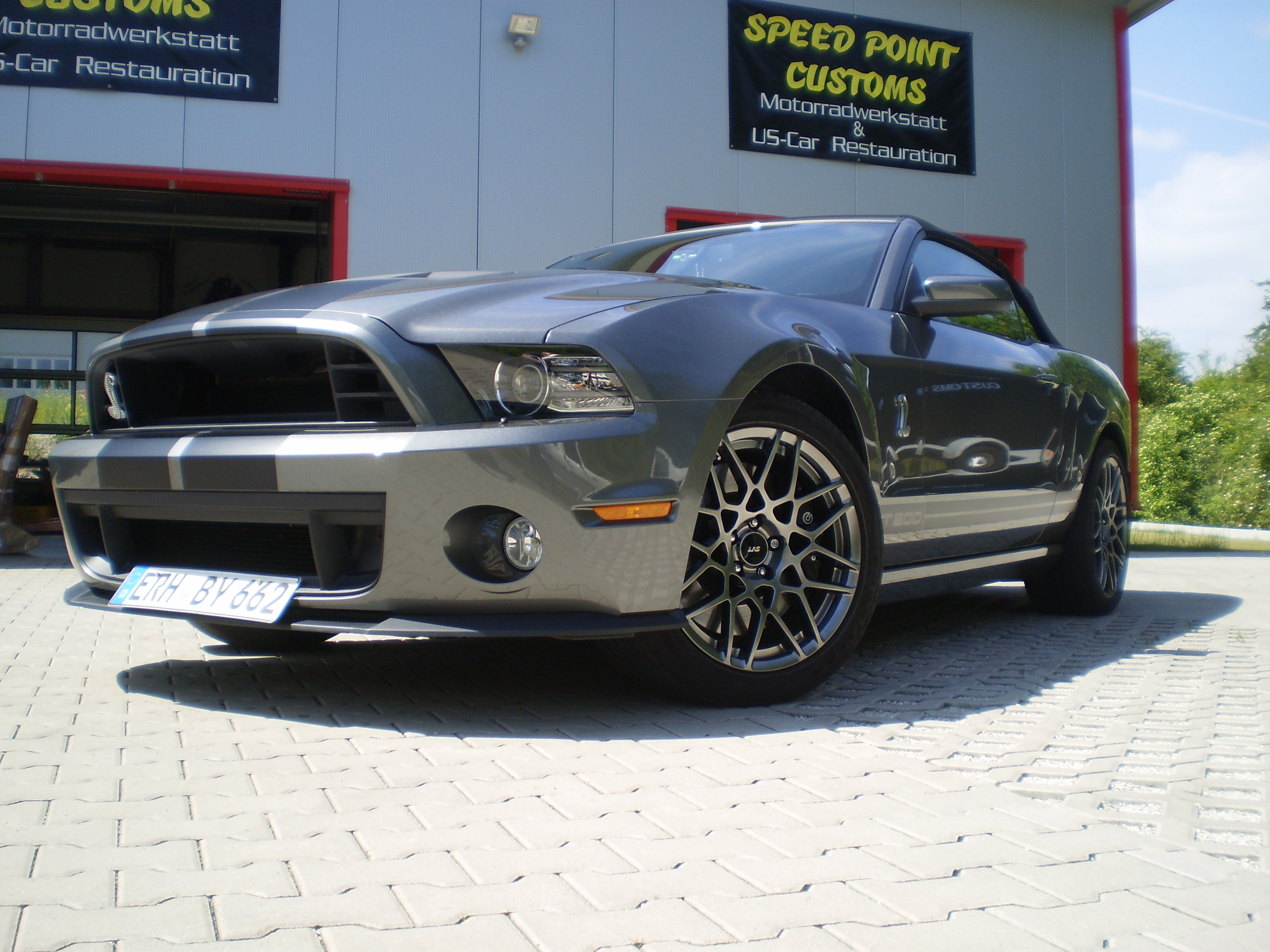2013 Ford Mustang Shelby GT 500